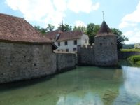 Замок Schlosshallwyl. Кантон Аргау. Автор joduma / pixabay.com