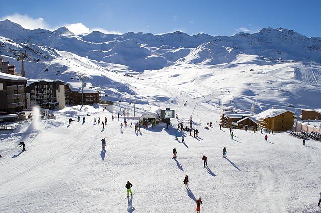 горные лыжи курорт