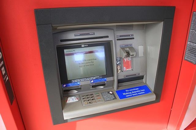 банкомат терминал