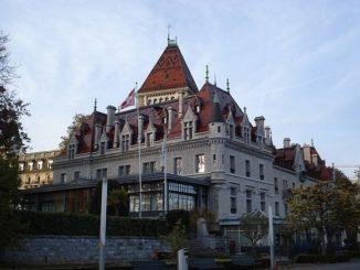 замок в Лозанне