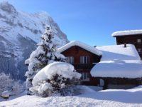 Дом в Альпах зимой. Швейцария.  Автор 34356 / pixabay.com