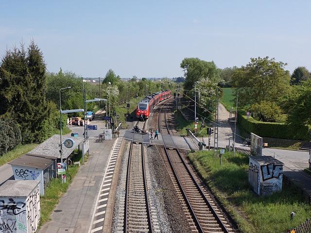 железная дорога переезд