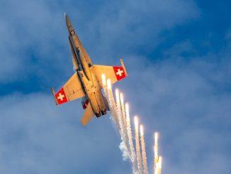 ВВС Швейцарии самолет