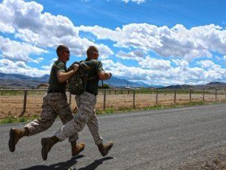 армия марш-бросок