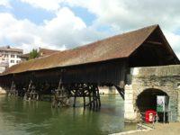 Мост. Ольтен. Автор David Mark  / pixabay.com
