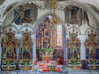 Церковь Святого Мартина. Аппенцелль. Автор David Mark / pixabay.com