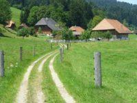 Швейцарская деревня. Автор David Mark / pixabay.com