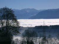 Море тумана. Цюрих. Оберланд. Автор joduma / pixabay.com